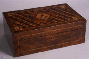 Hygra An extremely rare writing box made as a special commission